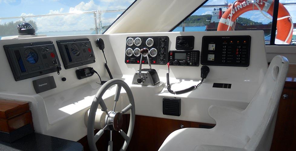 le bateau twin spirit